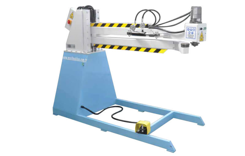 Square Channel Elbow Machine
